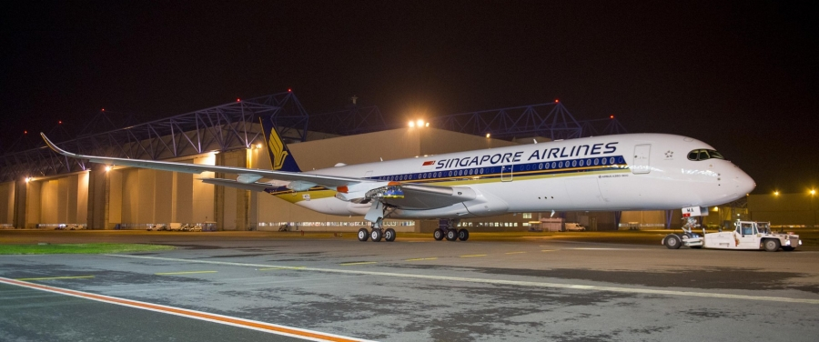 A350_XWB_Singapore_Airlines_paint_completed