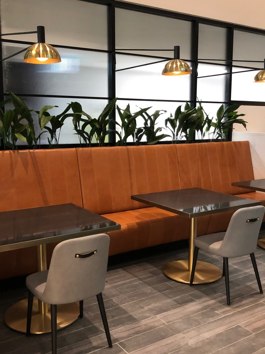 Melbourne Domestic Business Lounge - seating