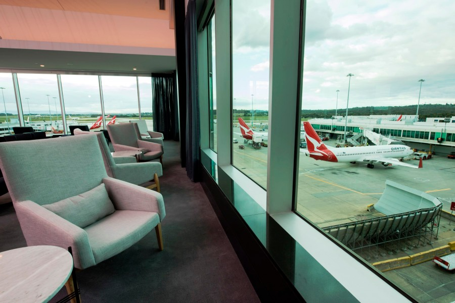 Melbourne Domestic Business Lounge - view