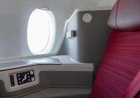 HX A350 New Business Class - Window seat