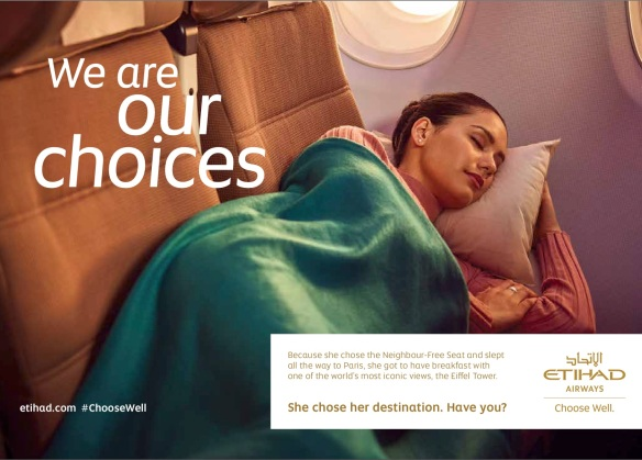 Image result for Etihad launches new brand platform: 'Choose Well'