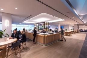 Melbourne Qantas Club - bar