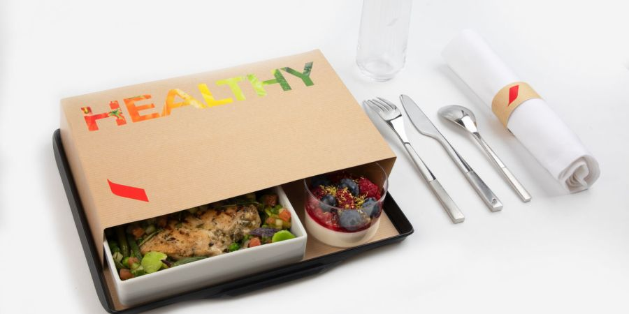 menu healthy air france 01