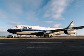 BOAC 747 Taken: 18th February 2019 Picture by: Stuart Bailey