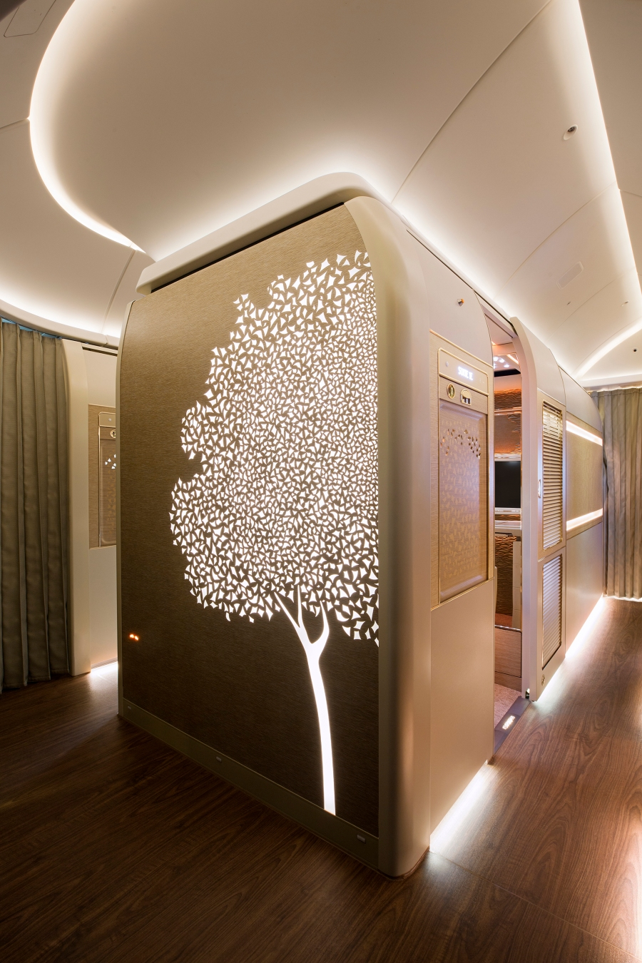 Emirates Airline First Class Cabin (Credit_Emirates Airline)