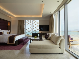 Kempinski Hotel Muscat_Grand Deluxe Sea View Room