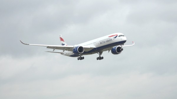 British Airways receives its first A350  But is it all it's cracked