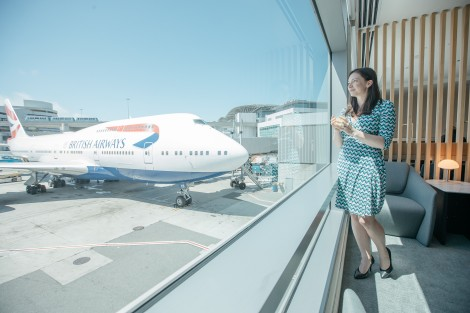 CALIFORNIA, USA: Refreshed British Airways lounge at San Francisco international airport on 03 July 2019 (Picture by Nick Morrish/British Airways)