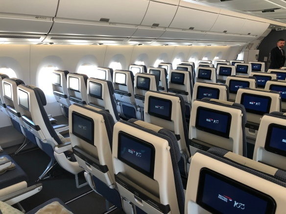 British Airways receives its first A350  But is it all it's