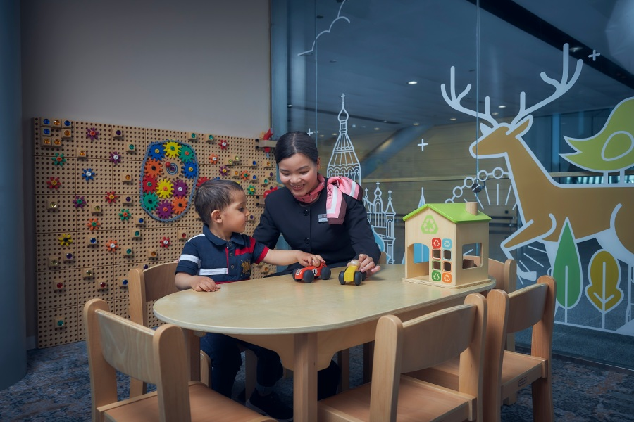 Plaza Premium Lounge Helsinki - PlayRoom, dedicated kids zone
