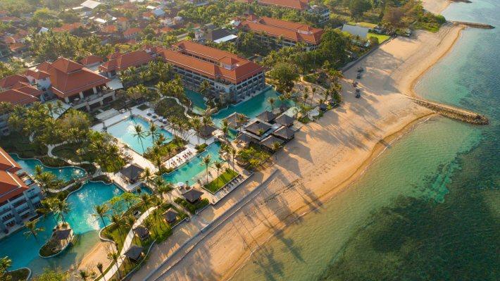 Aerial View - Conrad Bali