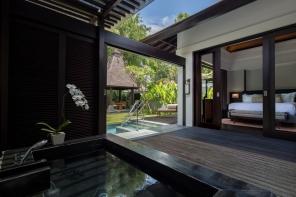 Conrad Pool Villa_outdoor bath