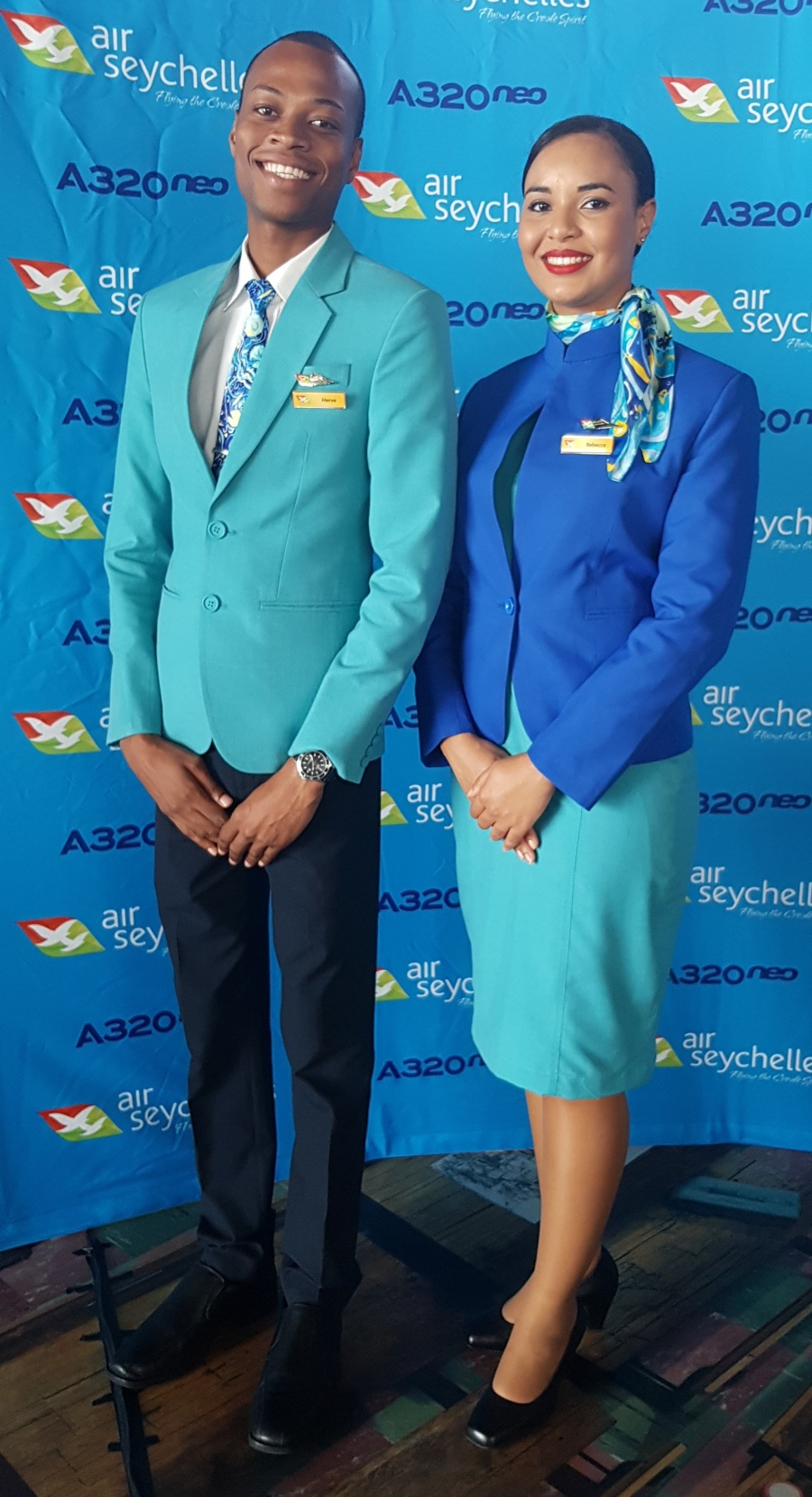 New Cabin Crew Uniform for the ladies and gents
