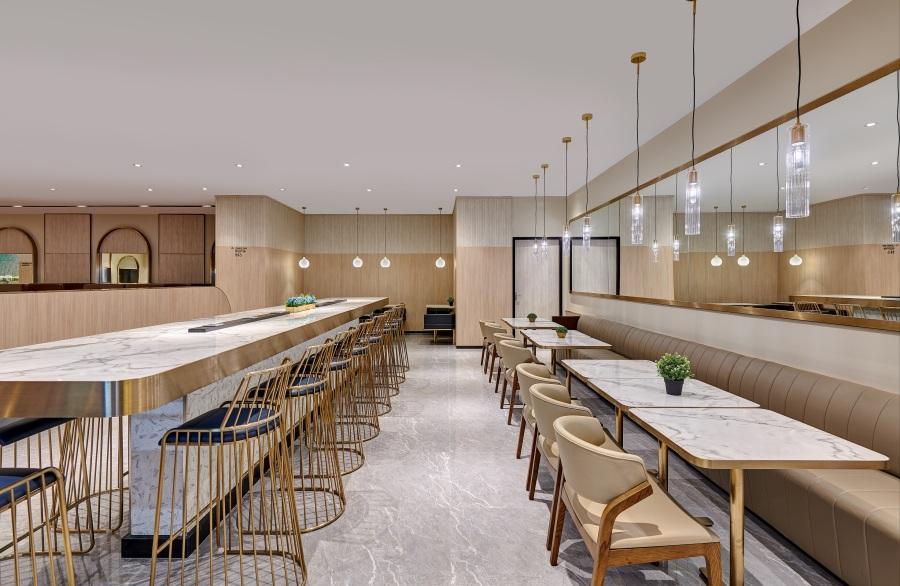 Plaza Premium Lounge - Domestic Arrivals, Mactan Cebu International Airport - dining area