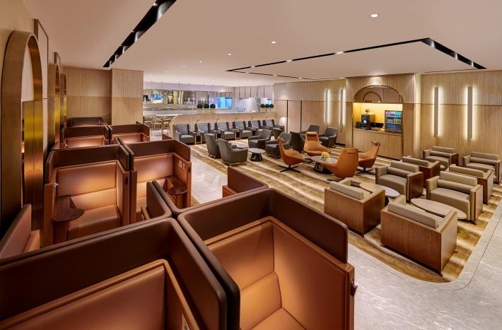 Plaza Premium Lounge - Domestic Arrivals, Mactan Cebu International Airport - lounge area (1)