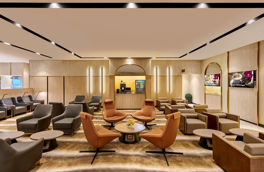 Plaza Premium Lounge - Domestic Arrivals, Mactan Cebu International Airport - lounge area (2)