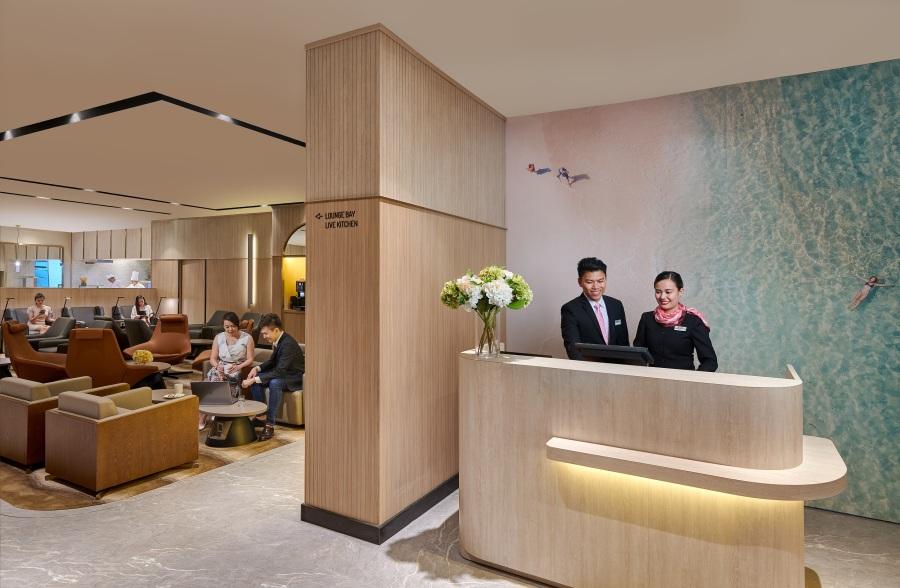 Plaza Premium Lounge - Domestic Arrivals, Mactan Cebu International Airport - reception