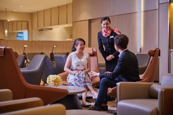 Plaza Premium Lounge - Domestic Arrivals, Mactan Cebu International Airport - welcoming and professional service