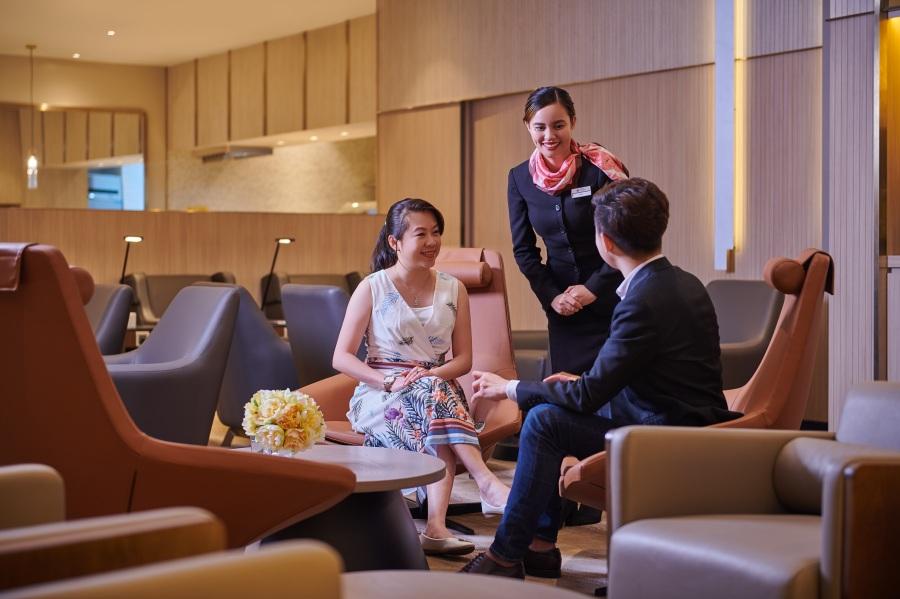 Plaza Premium Lounge - Domestic Arrivals, Mactan Cebu International Airport - welcoming and professional service