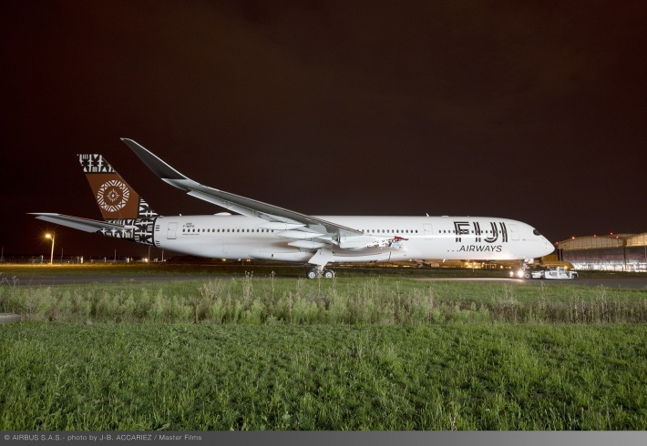 A350-900-Fiji-Airways-MSN299-rolls-out-of-paint-shop-006