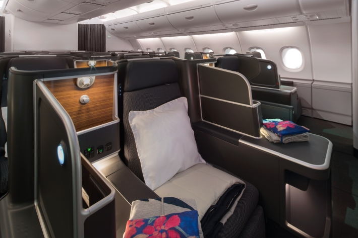 Qantas A380 Business 2