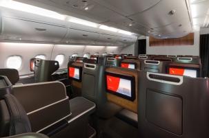 Qantas A380 Business 3