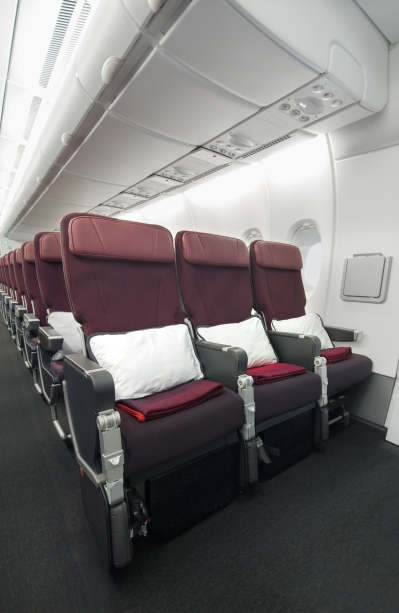 Qantas A380 Economy 1