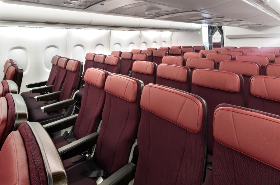 Qantas A380 Economy 2