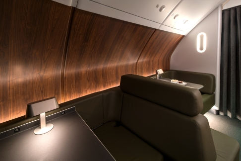 Qantas A380 onboard lounge 4
