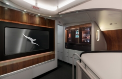 Qantas A380 onboard lounge 5