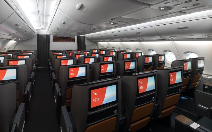 Qantas A380 Premium Economy 3