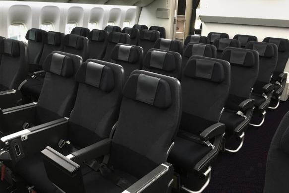 Strange Jal Reveals Rebranded 777 Infused Essence Cabin By Tangerine Uwap Interior Chair Design Uwaporg