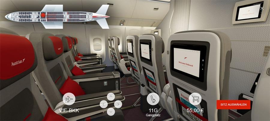 080 - Austrian Airlines 3D Seatmap_Premium Eco (C) Austrian Airlines_Renacen