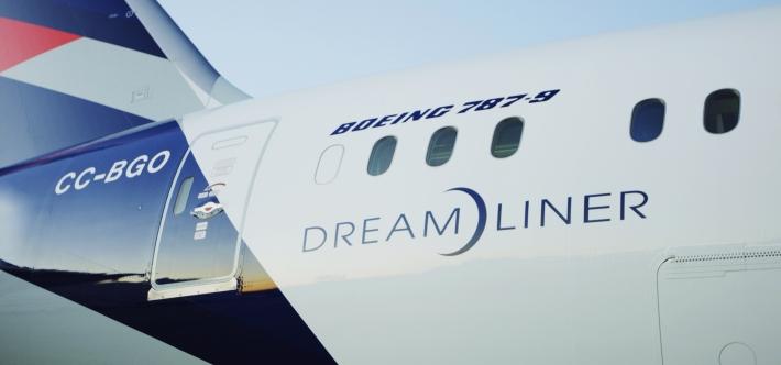 Boeing 787-9 de LATAM, Dreamliner numero 25 3