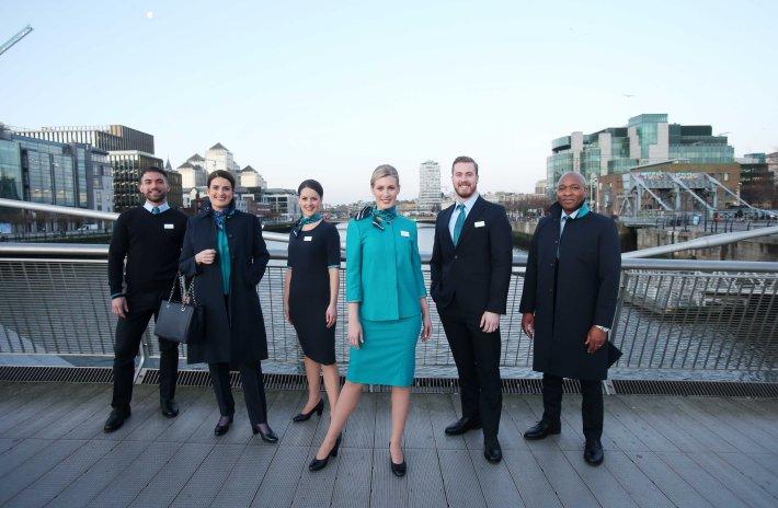01NO REPRO FEE Aer Lingus uniform