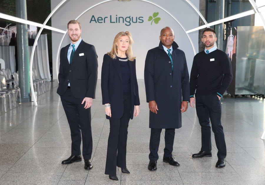 10NO REPRO FEE Aer Lingus uniform