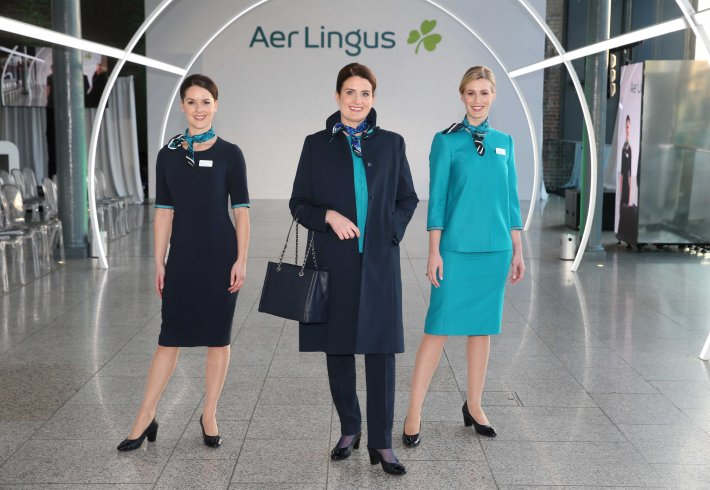 12NO REPRO FEE Aer Lingus uniform