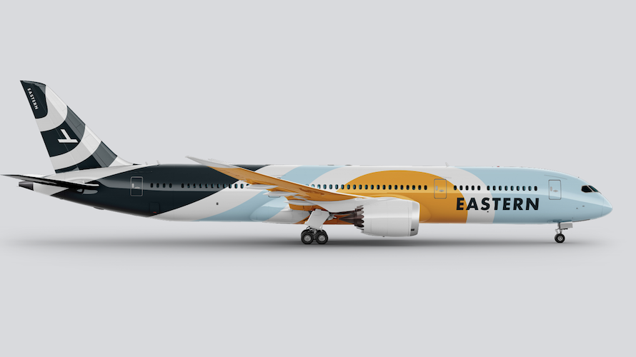Eastern Airlines Hits A Home Run With Fantastic Braniff Esque Brand Image Thedesignair