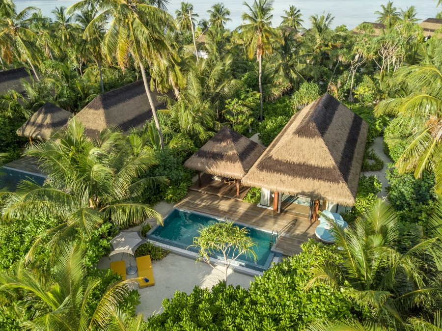1. Pullman Maldives_Beach Pool Villa Exterior