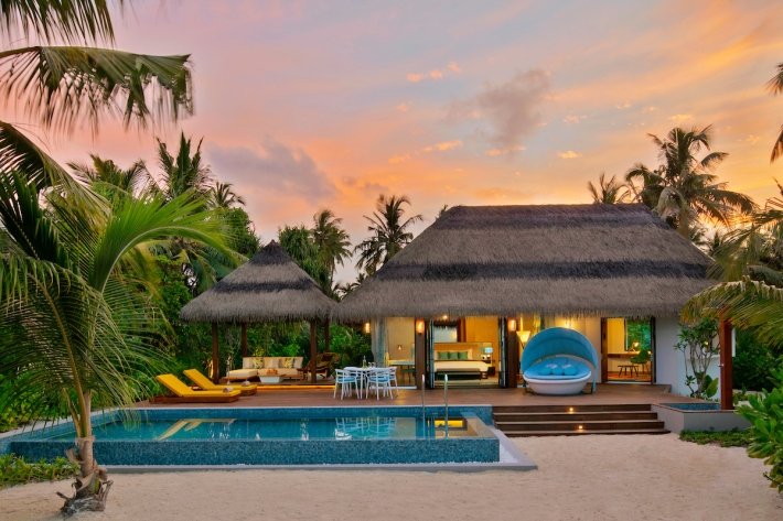 1. Pullman Maldives_Beach Pool Villa_Evening