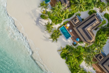3. Pullman Maldives_Beach Family Villa_Aerial