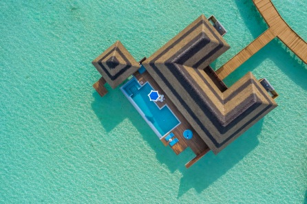 6. Pullman Maldives_Overwater Family Villa_Aerial