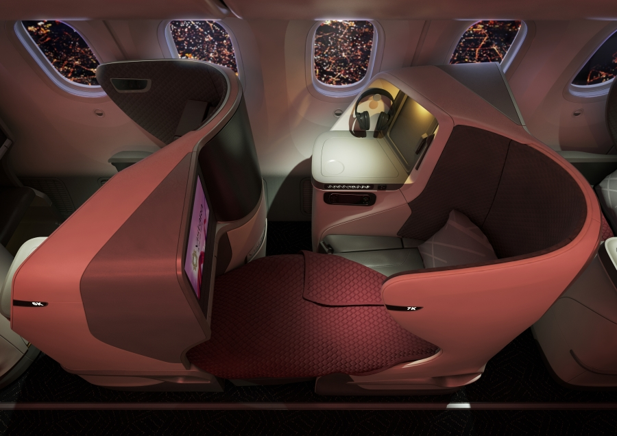 Vistara 787-9_Business Class_Flat Bed