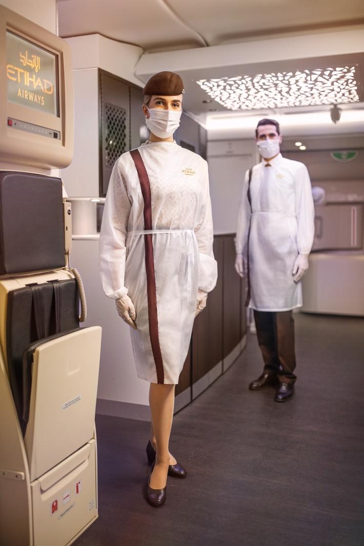 Etihad Crew in PPE