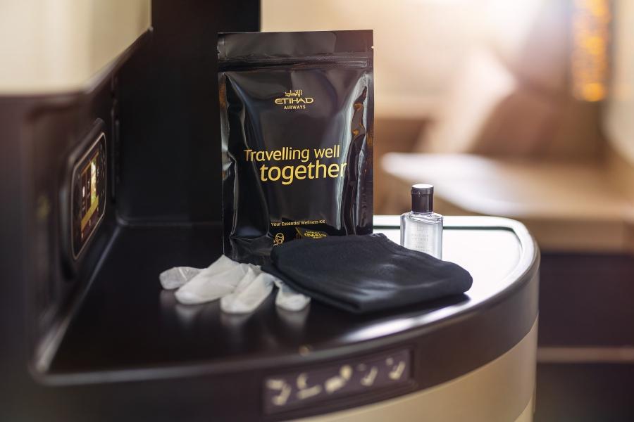 Ethiad Airways Wellness Kit